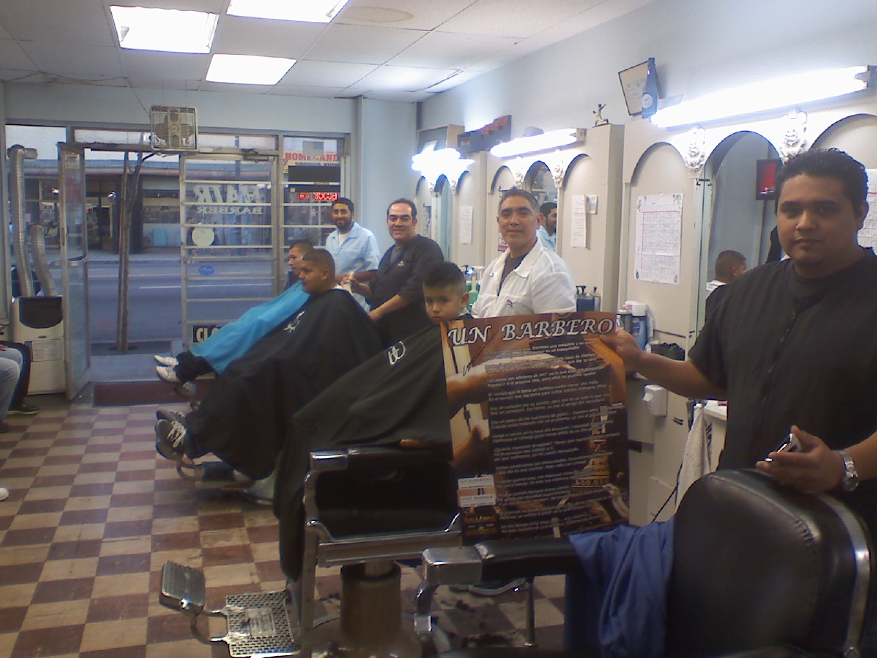 Barber Zone Sacramento : ONE BARBER > California Barber Shops in CA - hair shops including ...