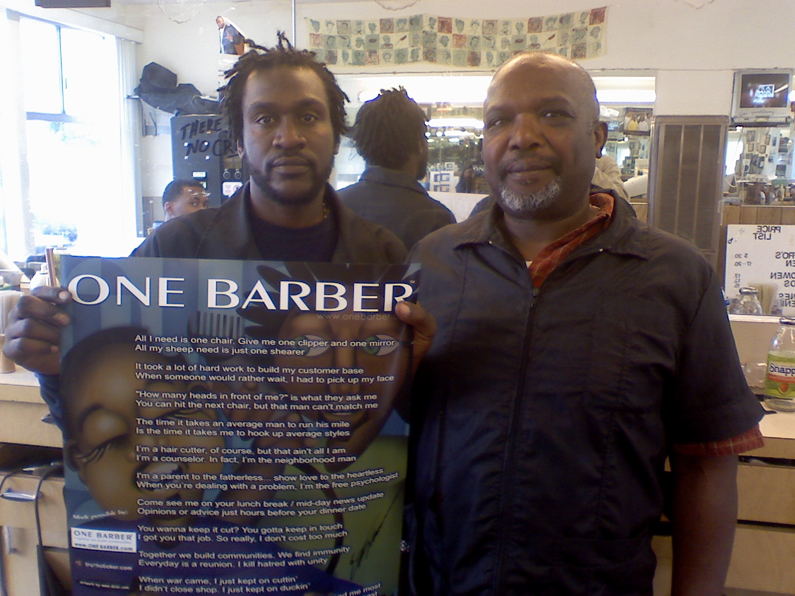 ONE BARBER > California Barber Shops in CA - hair shops including ...