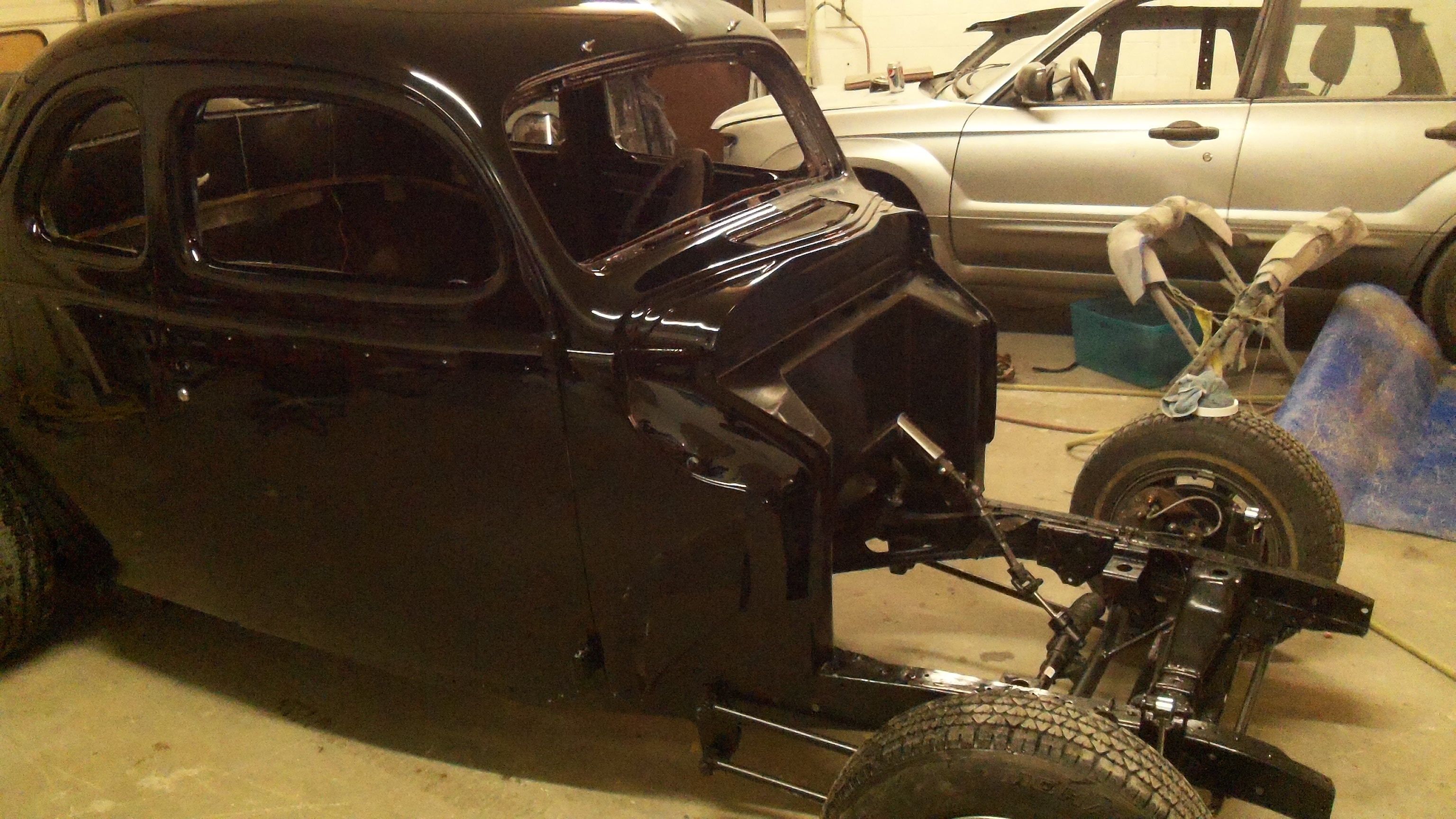 1939 Ford Coupe restoration