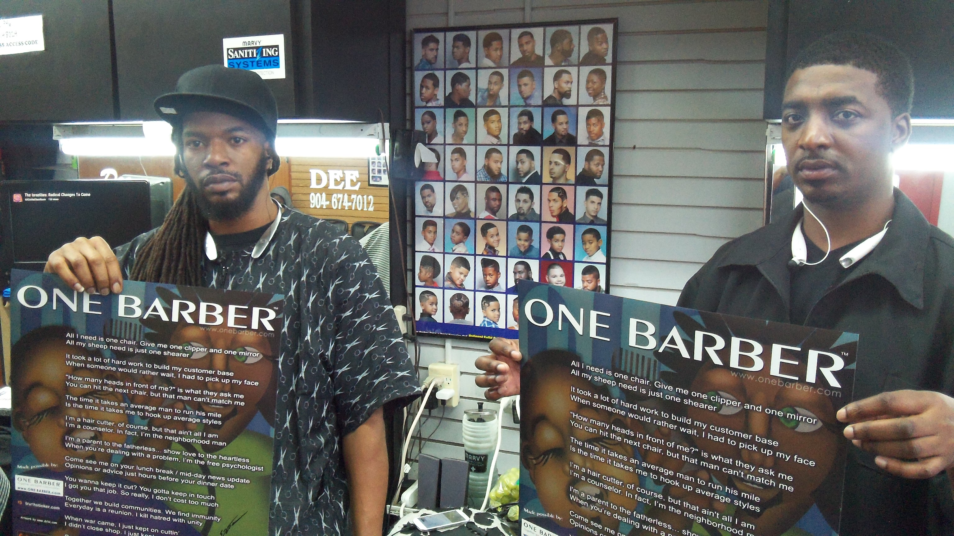 Barber Shop Orlando : ONE BARBER > Florida Barber Shops in FL - hair shops including ...