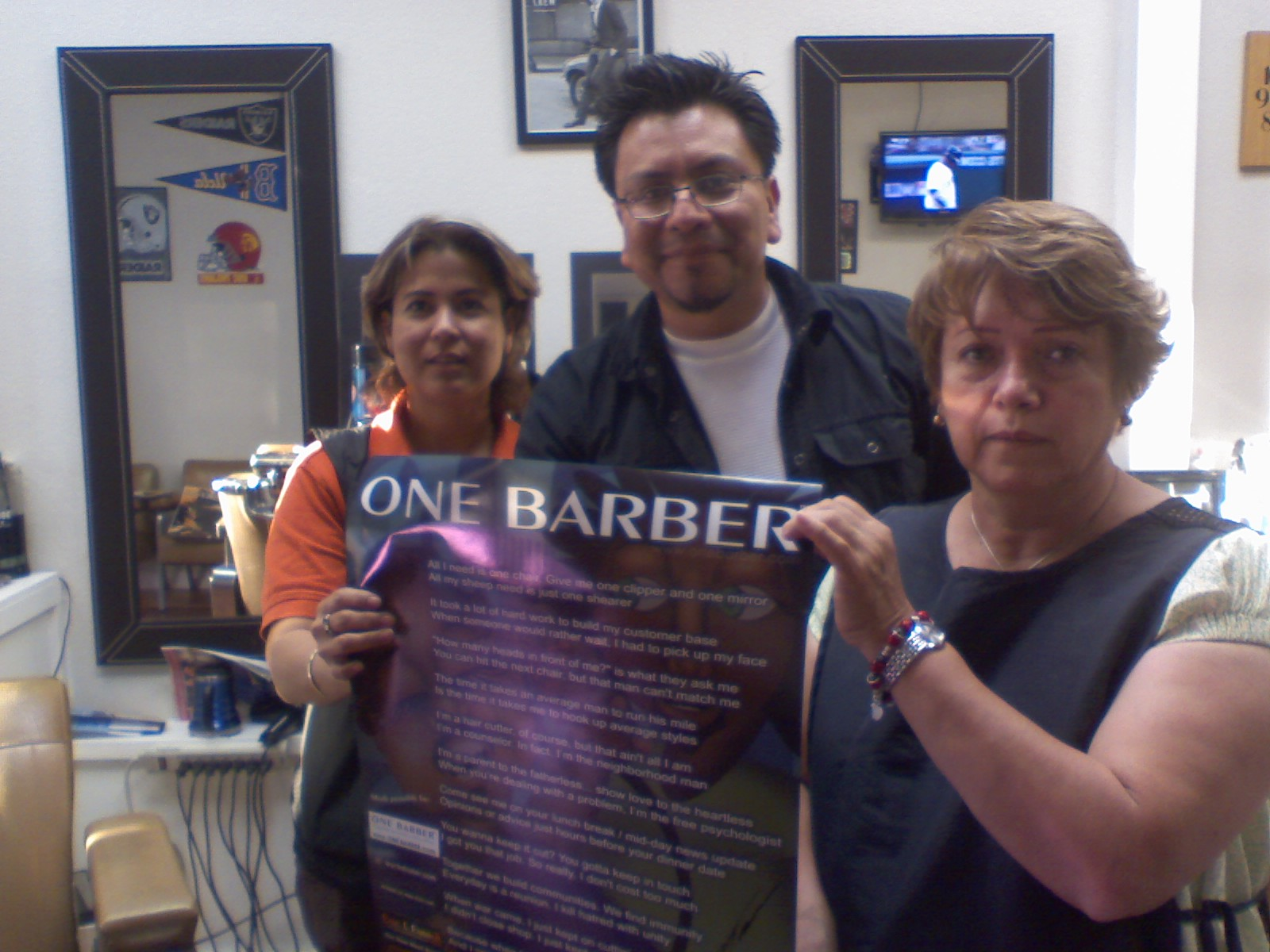 Barber Yucaipa : ONE BARBER > California Barber Shops in CA - hair shops including ...